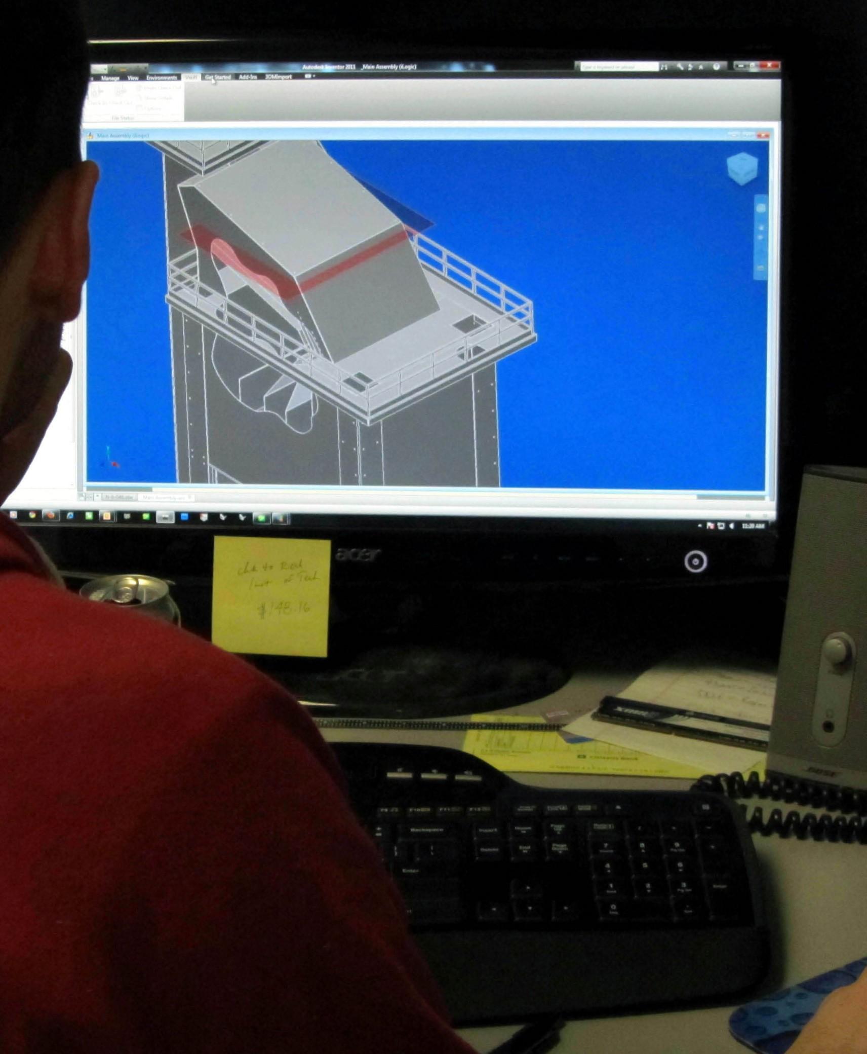 drawing 3D model