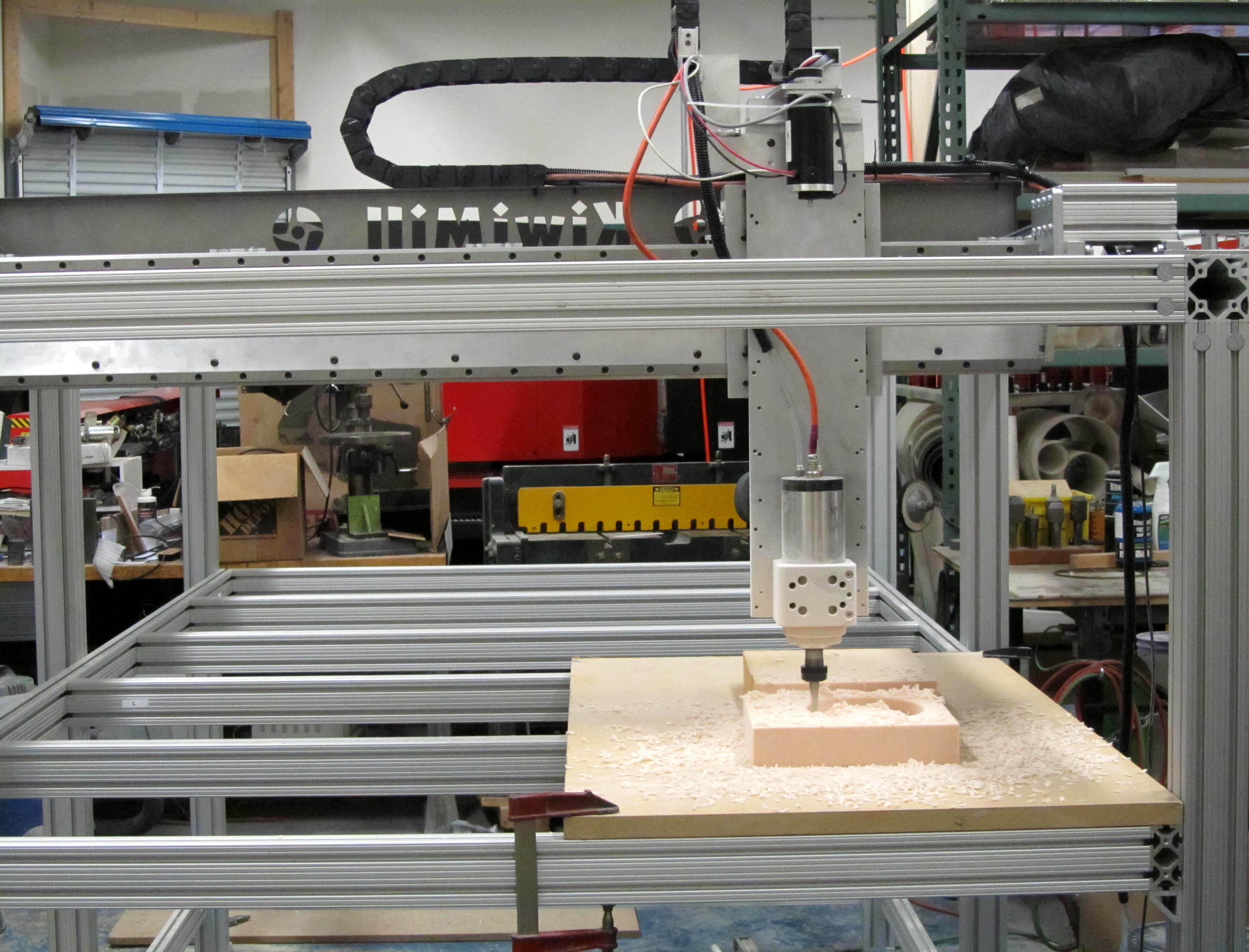model shop CNC router