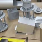 satellite model parts