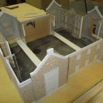 architectural model build