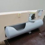 underground storage tank 3D printed cutaway model parts