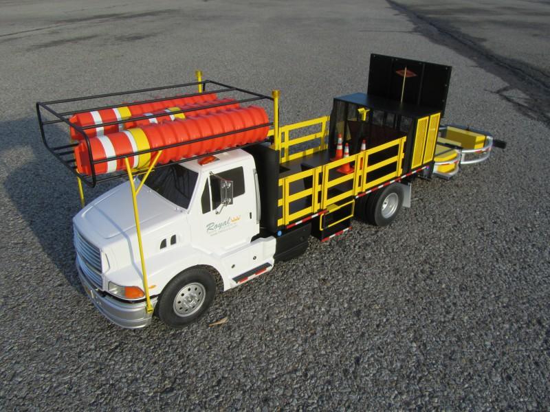 Custom 1:14 Scale Truck Model